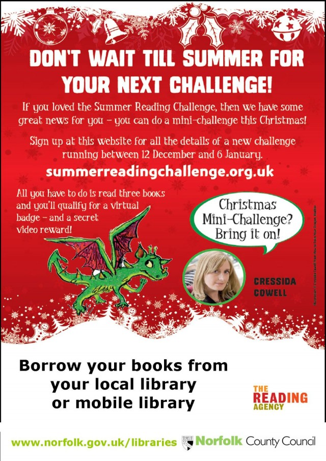Christmas Reading Mini-Challenge 2013