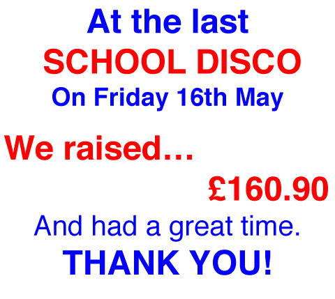 School Disco We Raised ..