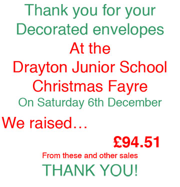 The Christmas Fayre Raised..