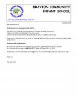 Christmas Year 2 Letter