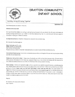 Year 1 Welcome Letter