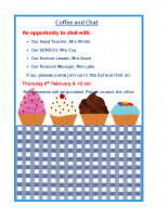Spring Term Coffee and Chat